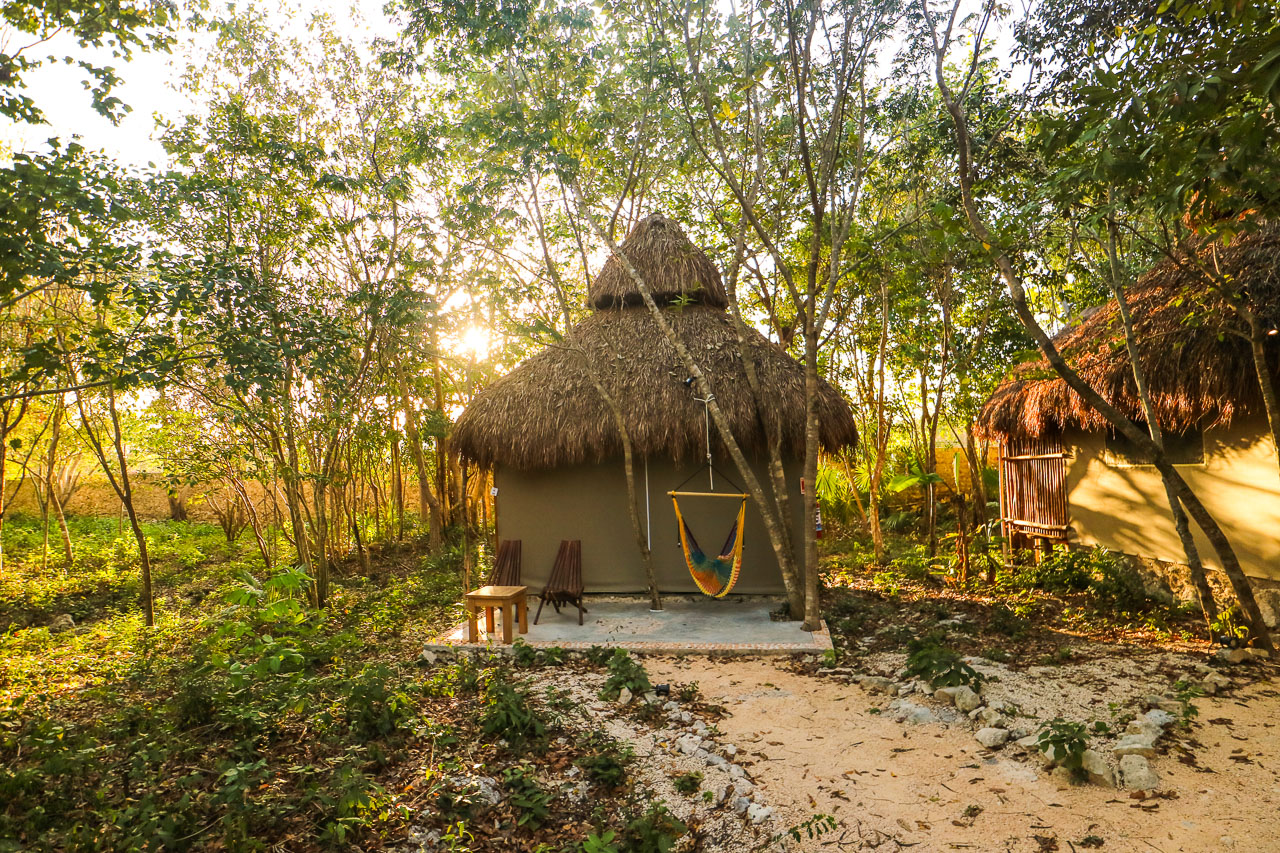 Akumal Natura Glamping in the Akumal tropical forest