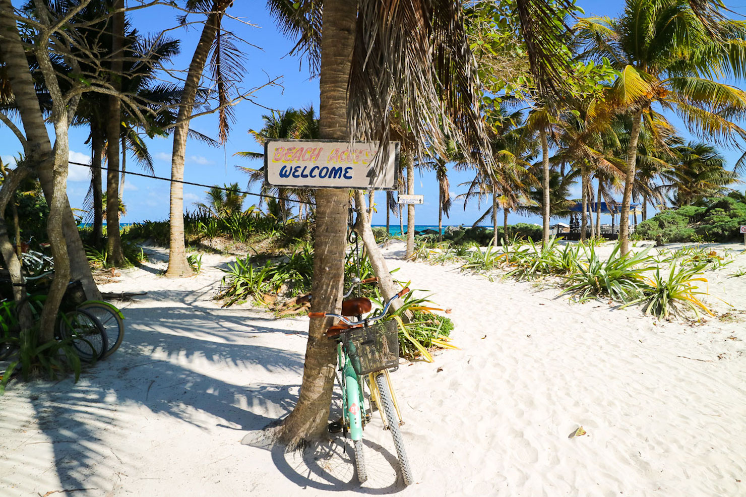 Beaches and Restaurants in Tulum