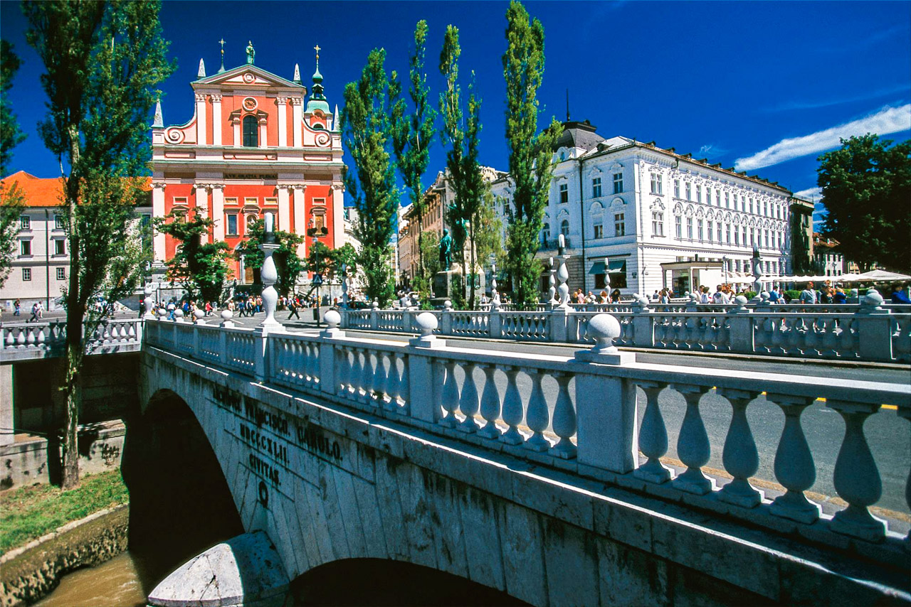 Ljubljana, City of Dragons