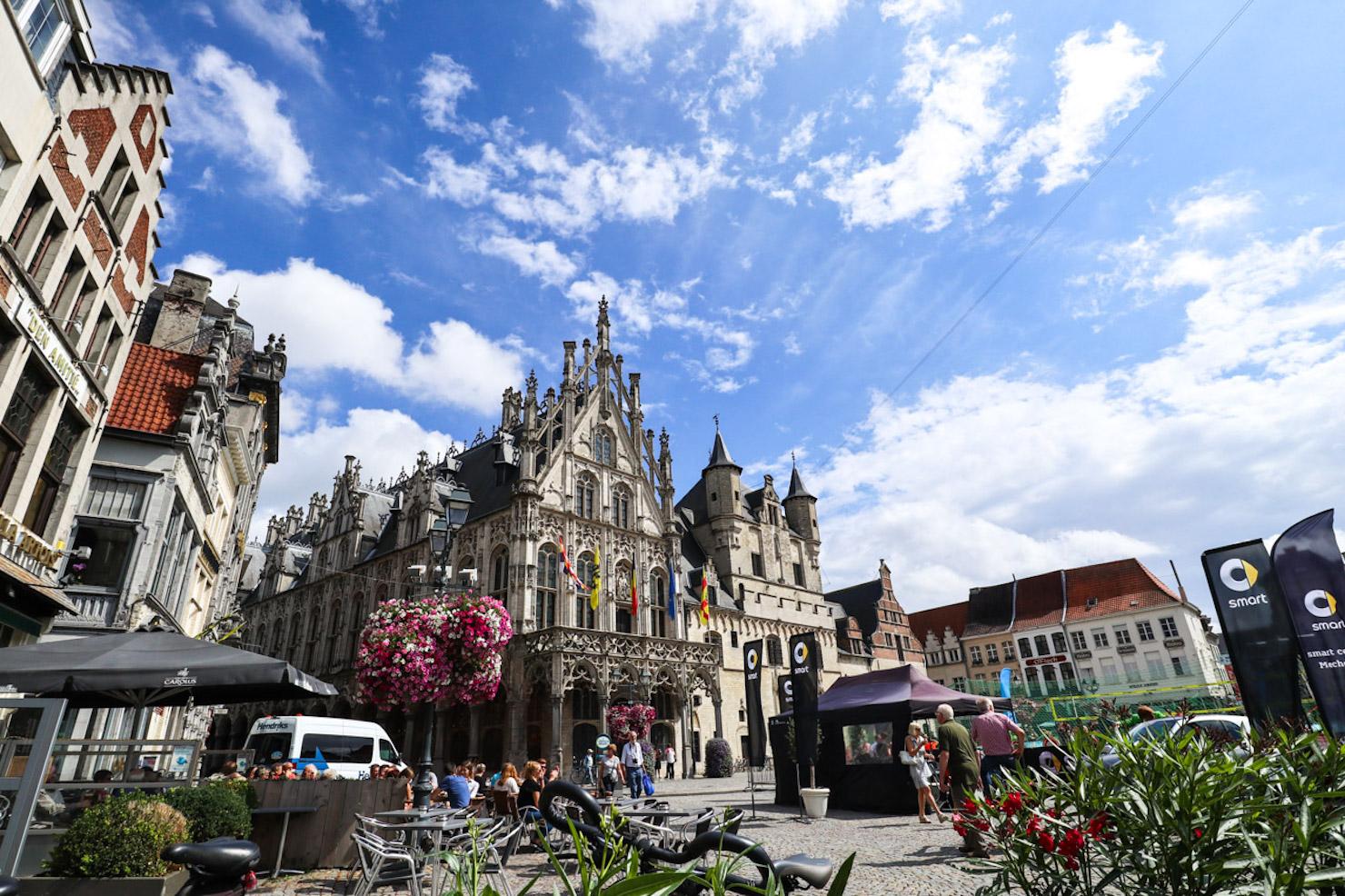 Afternoon stroll in Mechelen