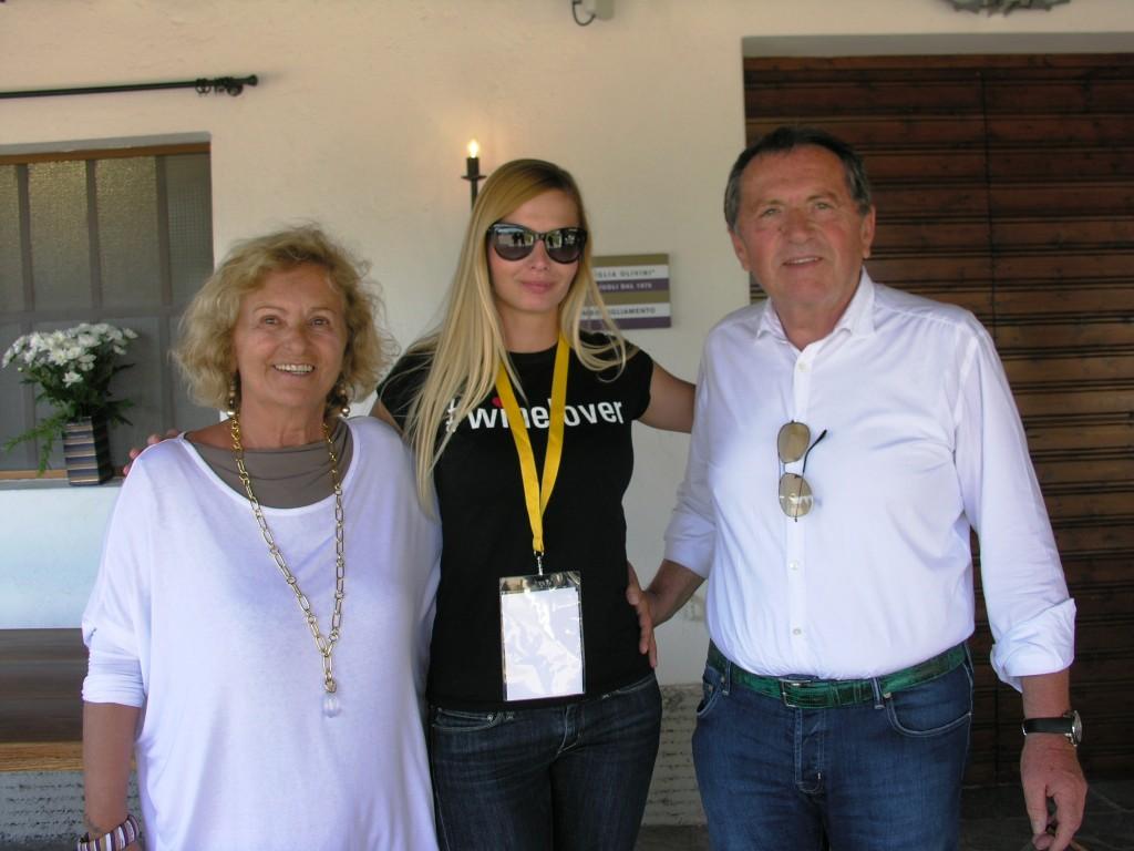 Graziella Olivini, Rita Tóth, Giulio Olivini