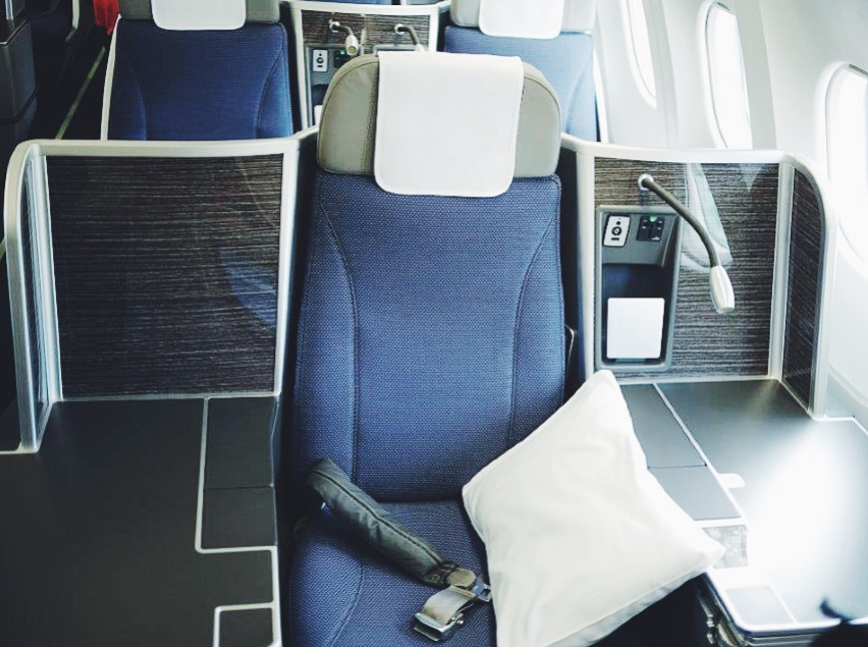 Brussels Airlines Business Class 6