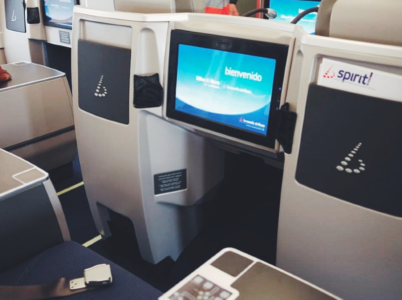 Brussels Airlines Business Class 9