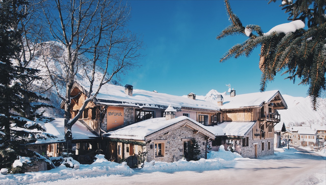 Luxury ski break at La Bouitte