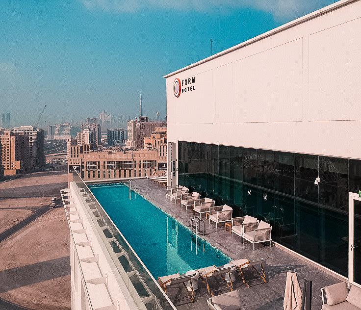 Form Hotel Dubai Pool view