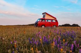 Goboony RV in a field