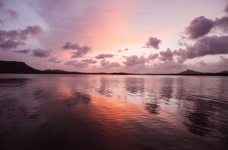 Groto Meer sunset Bonaire